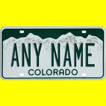1/43-1/5 scale custom license plates any brand RC/model car - Colorado tag - $11.00