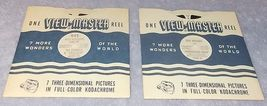Sawyer's View Master Reels Roy Rogers and Trigger # 945 and 948A - $8.00