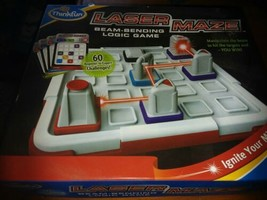 Thinkfun Laser Maze Beam-Bending Logic Game 60 Challenges Sealed Cards - $7.00