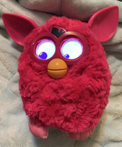 HASBRO 2012 FURBY BOOM PINK ELECTRONIC INTERACTIVE PET WORKS Fed Ex Ship - $19.78