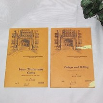GEAR TRAINS VINTAGE INTERNATIONAL CORRESPONDENCE SCHOOLS HOME STUDY BOOK... - $13.97