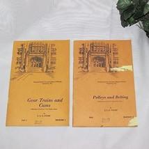 GEAR TRAINS VINTAGE INTERNATIONAL CORRESPONDENCE SCHOOLS HOME STUDY BOOK... - $13.97