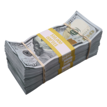 $30,000 - $100 Full Print Aged Fake Bills Bundle Poker Game Prank Music Video  - $24.99