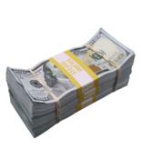 $30,000 - $100 Full Print Aged Fake Bills Bundle Poker Game Prank Music ... - $24.99
