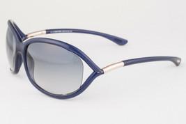 Tom Ford Jennifer Blue & Gold / Blue Sunglasses TF008 90W - $185.22