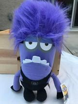 "17"" Evil Minion Plush Stuffed Toy Doll Despicable Me Nwt Universal Studios - $19.79"