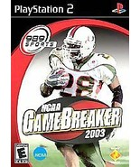 NEW FACTORY SEALED UNOPENED *NCAA GameBreaker 2003* (Sony PlayStation 2,... - $9.14