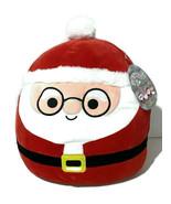 "Squishmallows St Nick Santa Claus Wearing Glasses 12"" Plush - $15.80"