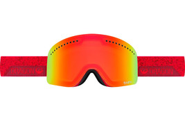 Dragon Alliance NFX Ski Goggles STONE RED Yellow Red Ionized +  Blue ste... - $79.20