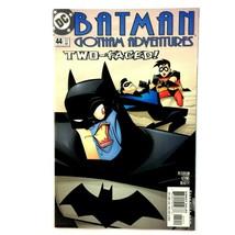 Batman Gotham Adventures #44 DC 2002 NM BTAS Universe Two-Face Batgirl N... - $9.85