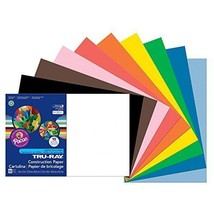 Pacon Tru-Ray Construction Paper, 12-Inches by 18-Inches, 50-Count, Asso... - $8.61