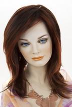 Fox Red Dark Brown Frost Blonde Long Monofilament Jon Renau Straight Wigs - $290.82