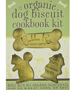 The Organic Dog Biscuit Cookbook Kit : Boxed Set Recipes & Cutter : New @ZB - $16.15
