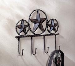 Texas Star Wall Hooks Plaque - $19.95