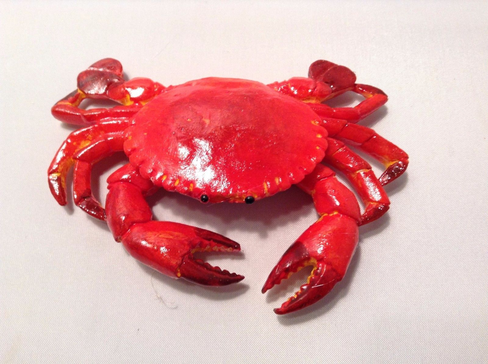 Realistic Red crab refrigerator magnet hard resin