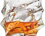 Crystal Whiskey Rocks Glasses , Old Fashioned Tumbler 11 OZ