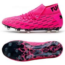 Puma Future 6.1 Netfit FG/AG Football Boots Soccer Cleats Pink 10617903 - $194.99
