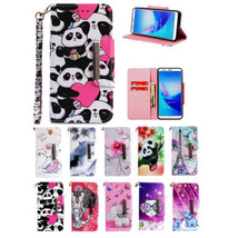 for Huawei Y9 Y7 2018 Y5 Prime Magnetic Wallet Case PU Leather Stand Flip Cover - $7.99