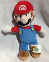 "Nintendo Super Mario 8"" Plush Stuffed Toy Rare video game character 2016 - $8.59"