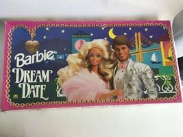 Vintage 1992 Barbie Dream Date Board Game Golden - Complete - $18.02