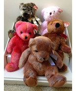 Below Wholesale Ty Classic Bear Lot of 5 Assorted Bears NWT Great Gifts ... - $22.02