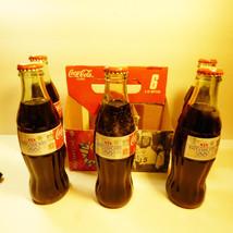 2002 Salt Lake City Xix Olympics Winter Games Sealed 5 Pack Coca Cola Bottles - $37.87