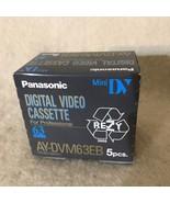 Panasonic AY-DVM63EB MiniDV 5 Pack - $18.80