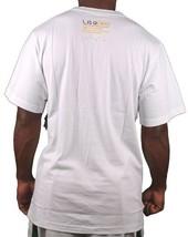 LRG ILL Denim Kids Feeding the Animals Giraffe V-Neck White T-Shirt NWT image 2