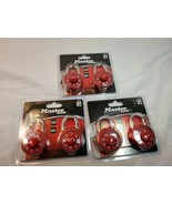 Master Lock 1530T Combination Lock New, Lot Of 6 / 3 packages red - $30.00