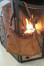 Fossil Vintage 1954 Classic Brown Leather Handbag 75082 New - $78.21