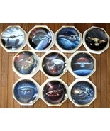 Star Trek The Voyagers Hamilton 10 plate collection . - $350.00