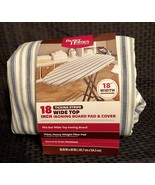 """Better Homes and Gardens 18"""" Wide Top Ironing Board Pad & Cover  - NEW -... - $23.36"""