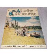 The Alaska Sportsman Magazine April 1953 Everett Wilde Cover - $6.95
