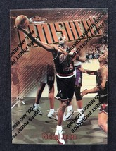 Michael Jordan Card 1997 Topps Finest Finishers With Protective Peel 39 - $29.69