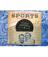 1956 Vintage Record The Greatest Moments In Sports History 33 1/3 RPM - $14.99