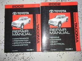 2002 Toyota Tacoma Truck Service Shop Repair Workshop Manual Set Oem Factory - $267.25