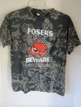 "Boys X Games ""Posers Beware!"" Gray T-Shirt Size M - $6.79"
