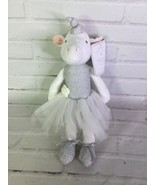 Manhattan Kids Ballerina Princess Unicorn Stuffed Animal Doll Toy White ... - $39.59