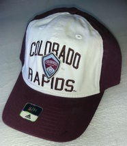 Adidas MLS Colorado Rapids Soccer Hat Cap Curved Visor Size S/M - $15.00
