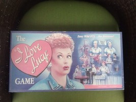 The I Love Lucy Board Game Lucille Ball Vintage 1987 Talicor Factory Sea... - $31.83