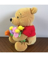Flower Pooh Winnie the Pooh Disney Store Plush Mini Bean Bag Stuffed Ani... - $10.04