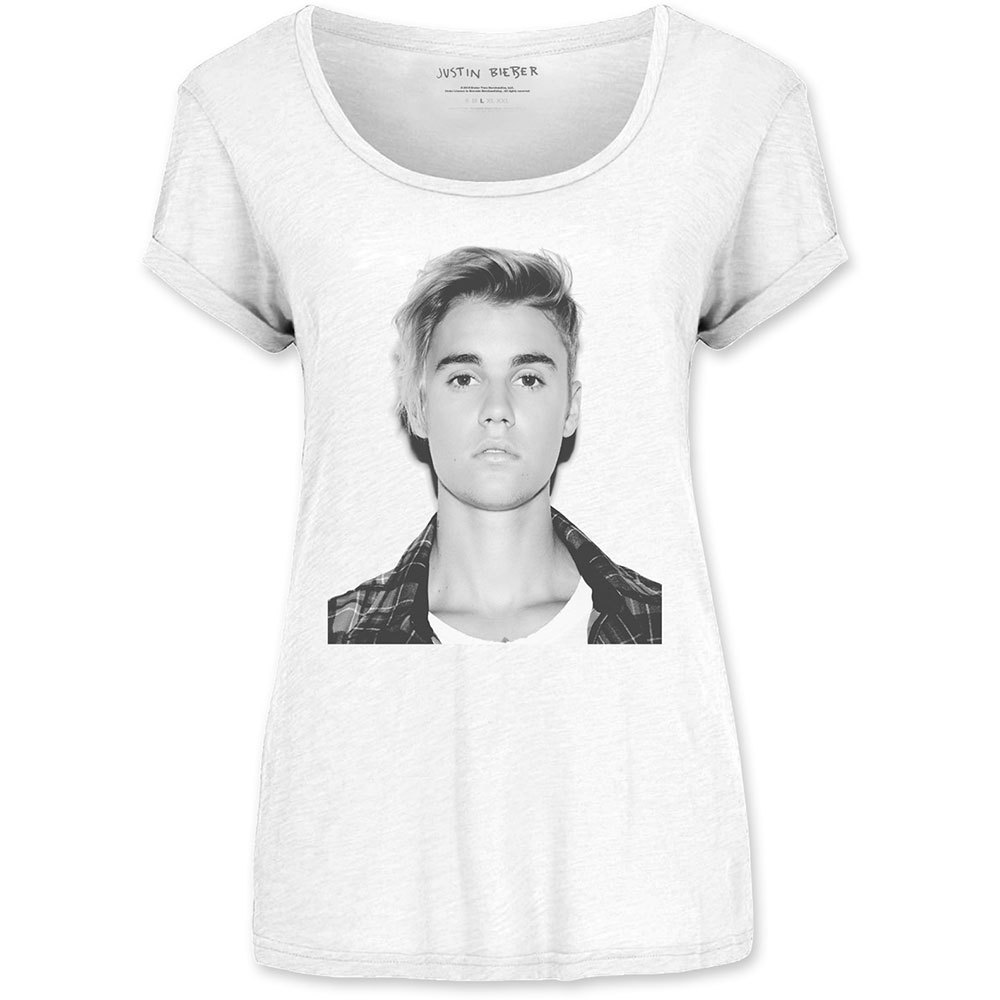 Primary image for Ladies Justin Bieber Love Yourself Purpose Official Tee T-Shirt Womens Girls