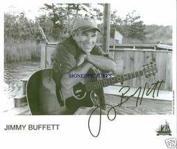JIMMY BUFFETT AUTOGRAPHED 8X10 RP PHOTO CHEESEBURGER IN PARADISE - $14.99