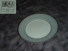 Mikasa Spindle Gray 5 Bread and Butter Plates - $14.98