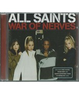 ALL SAINTS - WAR OF NERVES 1998 UK 3 TRACK CD SINGLE PART 2 W/POSTER - L... - $16.51