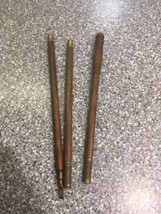 VINTAGE EARLY 1900's 3 SECTION WOOD & BRASS SHOTGUN CLEANING ROD - $19.79