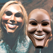 The Purge Mask Helmet Halloween Cosplay Season Resin Big Smile Face - $64.35 CAD
