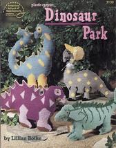 Plastic Canvas DINOSAUR PARK Saurus Dino FAMILY Glow In The Dark Buddy P... - $12.99