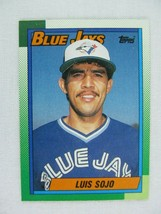 Luis Sojo Toronto Blue Jays 1990 Topps Baseball Card Number 594 - $0.98