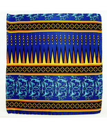 Men's Pocket Square Handkerchief Wedding Fashion Dress Silk Gold Blue Hanky - $19.75